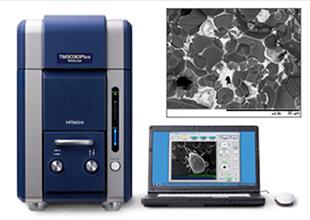 走査型電子顕微鏡: HITACHI TM3030Plus